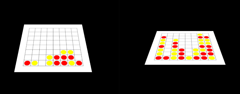 Computer Generated Connect Four Boards (for evaluation)